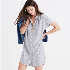 Madewell Central Dress in Stripe